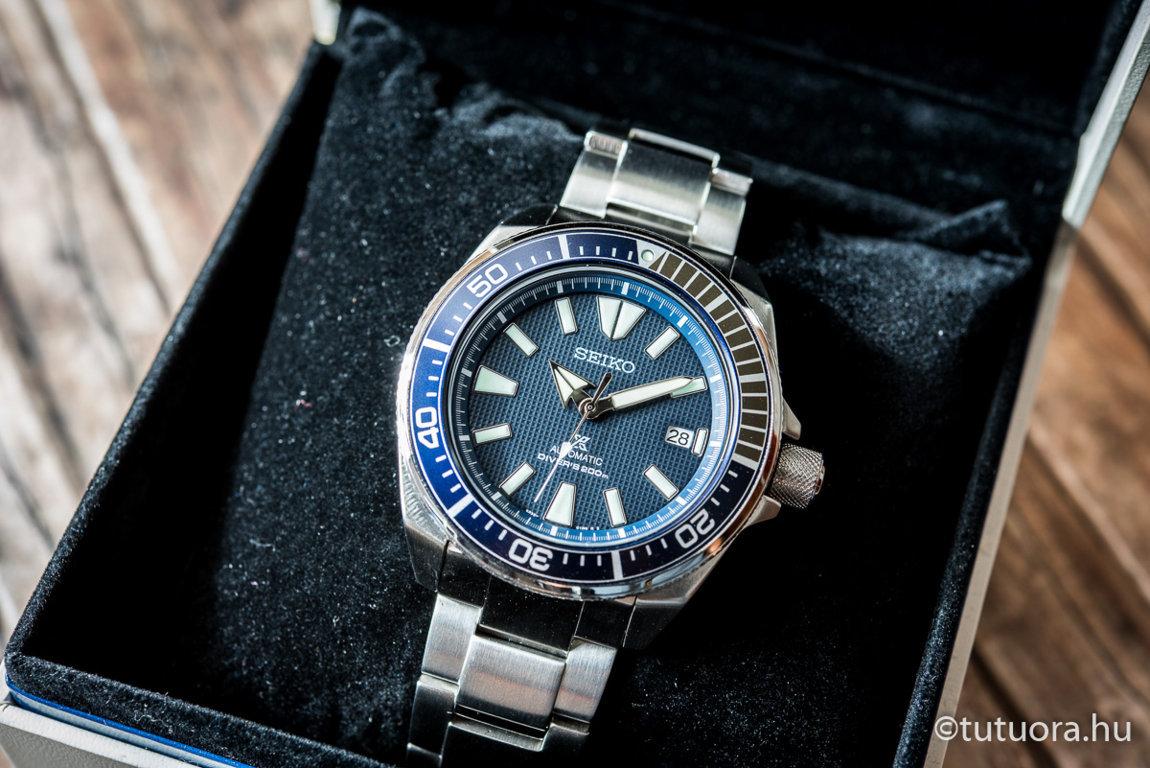 SRPB49K1 SEIKO Prospex Blue Samurai óra - TUTU Óraszalon Westend 5e716a6fe4